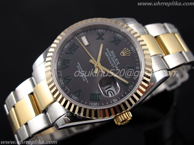 rolex fake günstig datejust 2 41mm men automatic schweiz Rose gold 116264